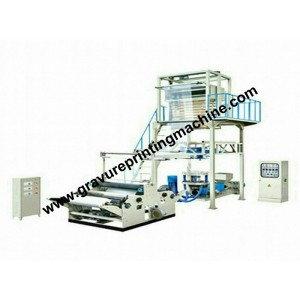 blown film extrusion with back to back winder